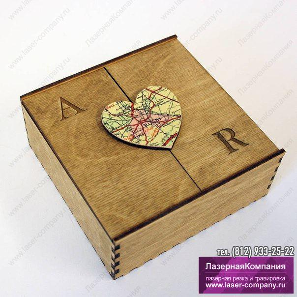 Коробка из тонкой фанеры