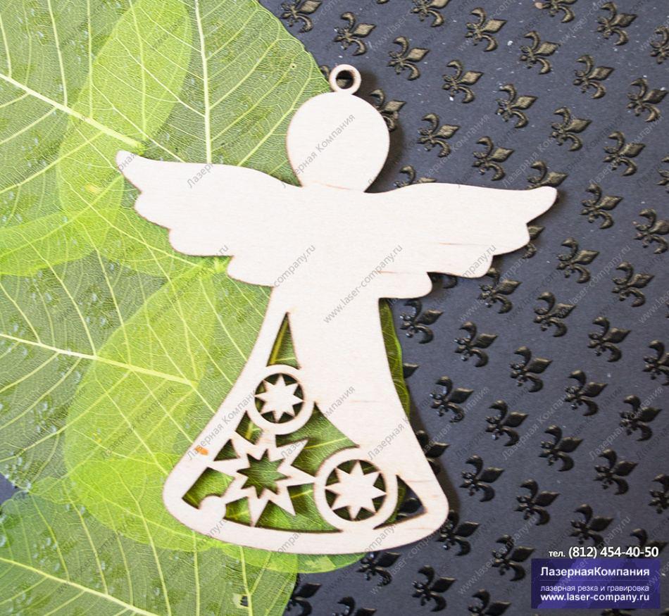 Игрушка ангел из бумаги