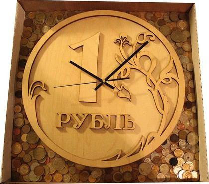 Настенные часы из фанеры своими руками